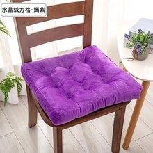 Кресло для офиса и дома подушка удобный хлопчатобумажный Декор зима Офис Бар подушки под спину и на сиденье стула диван подушка ягодицы стул подушка