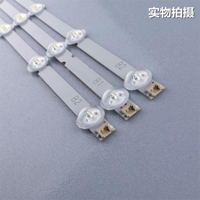 Nuovo Originale 3 Pz/set 7LED B1/B2 Type Striscia di Retroilluminazione A LED per LG 32LN541V 32LN540V 6916L 1437A 6916L 1438A LC320DUE SF R1