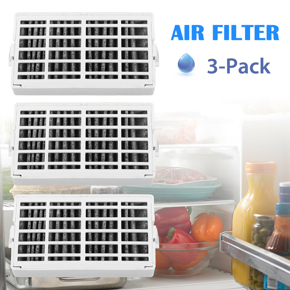 3 Pcs Fresh Flow Comparable Refrigerator Air Filter For Whirlpool W10311524 L9