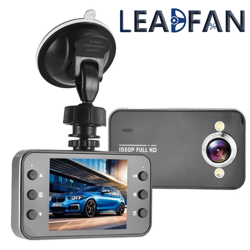 Leadfan Driving-Recorder Car-Dvr-Camera Dashcam Night-Vision Full-Hd Automobile 1080P