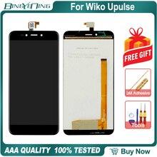 Novo original para wiko upulse lcd & digitador da tela de toque com moldura display módulo acessórios montagem ferramentas substituição