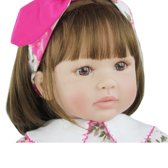 60cm Soft Silicone Reborn Baby Doll Toys