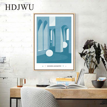 Modern Simple Home Wall Canvas Painting Nordic Art Printing Posters Pictures for Living Room DJ377