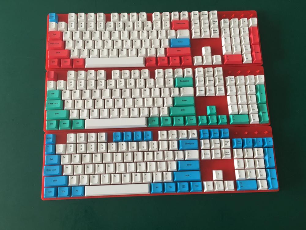 Keycap PBT Cherry-Profile Mechanical-Keyboard Printing Yes for Dyesubbed 108 Dye Sub