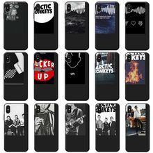 arctic monkeys Rock and roll Band Pop music Soft Silicone Phone Case for iPhone X XS MAX XR 7 8 6 6S plus 5S SE(China)