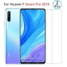 Защитное стекло закаленное для huawei p smart pro 2019