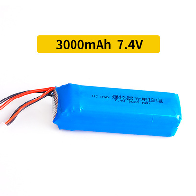 7.4V <font><b>3000mAh</b></font> upgrade <font><b>Lipo</b></font> Battery for X9D Plus Transmitter Toy Accessories <font><b>2S</b></font> 7.4V <font><b>Lipo</b></font> Battery image