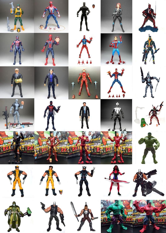 Marvel legend – figurine de Tony, bannière Pizza Scarlet, multivers, Spiderman Deadpool Hydra, Collection ample, offre spéciale, 2099
