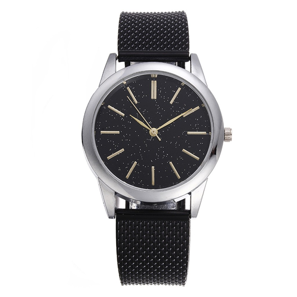 2020 New Men's Quartz Watch Luxury Starry Sky Scale Dial Wrist Watch Top Rose Gold Men's Analog Clock Watch Relogio Feminino 4