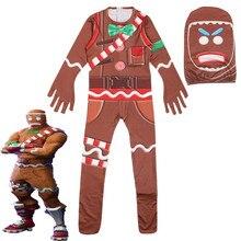ฮาโลวีนเครื่องแต่งกายสำหรับเด็ก Raven Ninjago ชุดคอสเพลย์บทบาทเกม Battle Royale Carnival เสื้อผ้า Skull Trooper เสื้อผ้า