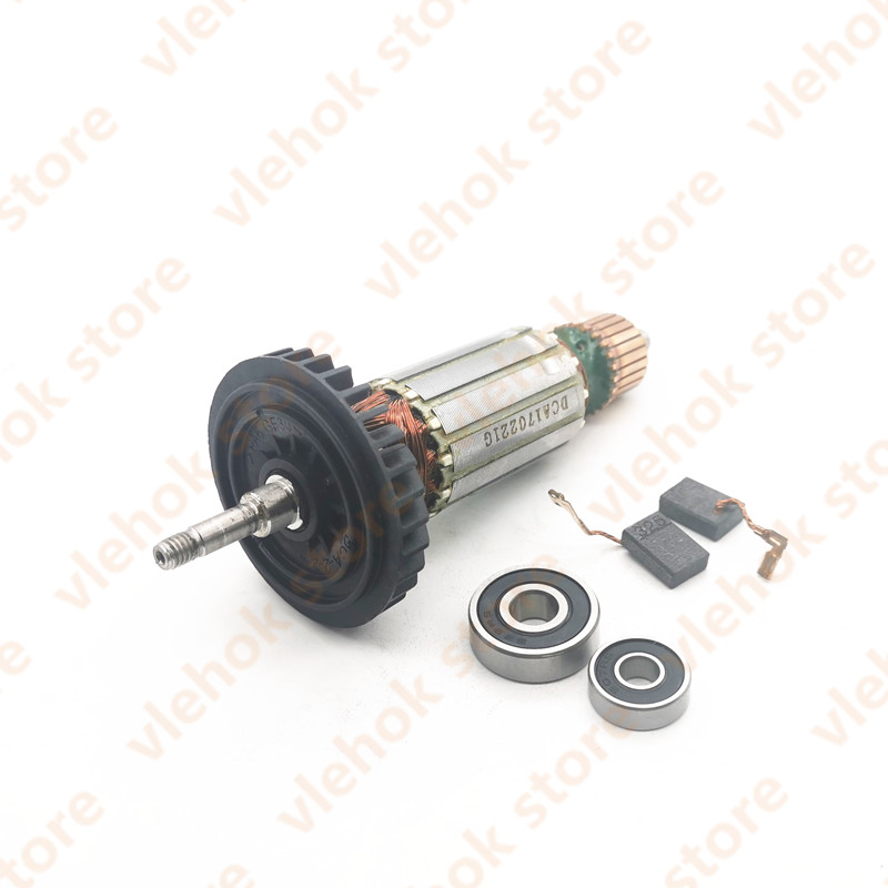 AC220-240V Armature Rotor 515619-7 515616-3 510105-3 Replace For MAKITA 9553HB 9553HN 9554NB 9555HN 9553NB 9555NB 9554HN Power