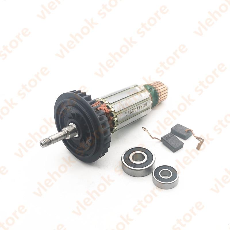 AC220-240V Armature Rotor 515619-7 515616-3 510105-3 Replace For MAKITA 9553HB 9553HN 9554NB 9555HN 9553NB 9555NB 9554HN Power