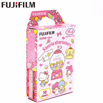 New Fujifilm 10 sheets Instax Mini SANRIO CHARACTERS Instant Film photo paper for Instax Mini 8 7s 9 25 50s 90  SP-1 SP-2 Camera fujifilm colorfilm candypop 10 1pk для instax mini 8 7s 25 50s 90 polaroid 300 instant 16321418 70100139614