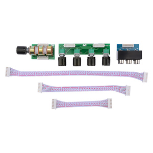 Image 5 - AIYIMA 5.1 アンププリアンプトーンボード 6 チャンネル独立したパッシブプリアンプトーンボリューム調整 5.1 ホームシアター