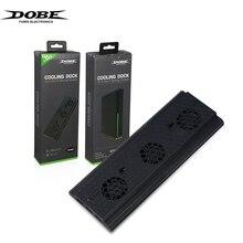 DOBE Verticale Cooling Stand Compatibel Voor xbox one x Verticale Stand, snelle Cooling Fan Stand En Met 3 USB Poorten TYX 1768.
