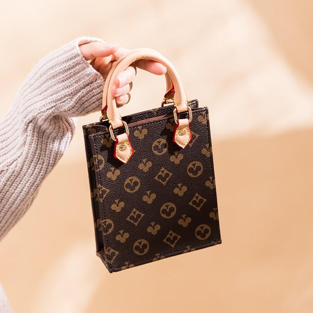 Luxury small rectangle  Printed small Handbag  3