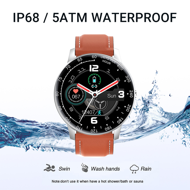 LIGE 2020 New Smart Watch Men Women Watch Heart Rate Monitor Music Control For Android/iPhone IP68 Waterproof Sport Smartwatch 3