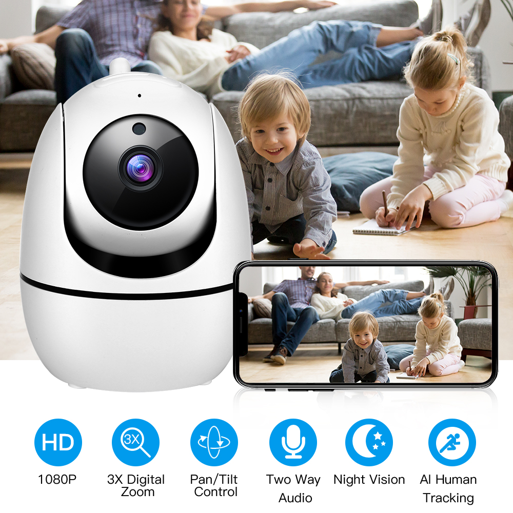 HD 1080P Cloud Wireless IP Camera WiFi Security Surveillance CCTV Camaras De Vigilancia Con Wifi Seguridad Ip Cam Two Way Audio
