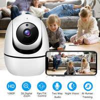 HD 1080P nube IP cámara inalámbrica WiFi cámara de seguridad de vigilancia CCTV camaras de vigilancia con wifi de seguridad ip Cámara audio de dos vías