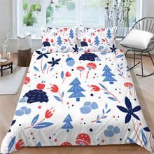 Набор постельного белья с мультяшным 3d принтом удобный рисунком