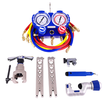 VALUE Combination Tool Set Table group/cutter/tube reamer/tricolor tube/chamferer/tool box VTB-5B - discount item  10% OFF Welding Equipment