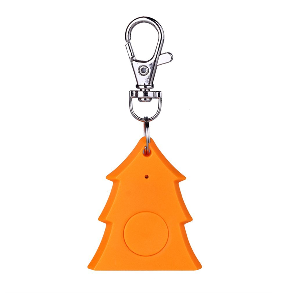 Mini Christmas Tree Anti-lost Keychain GSM GPRS GPS Tracker Locator Device Smart Tag Bluetooth Alarm Keychain Wireless Finder