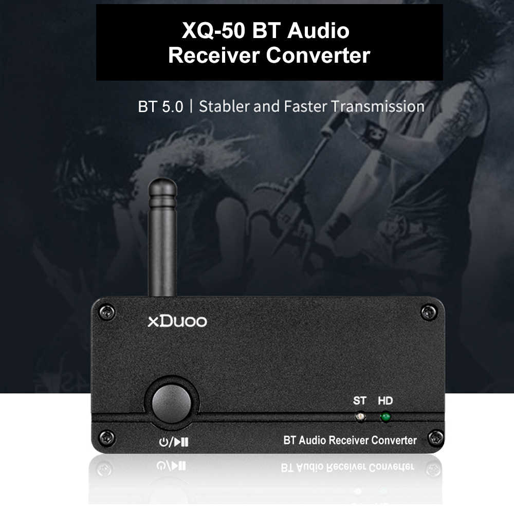 XQ-50 Buletooth аудио приемник конвертер Buletooth 5,0 аудио приемник QCC3008 ES9018K2M DAC PC USB DAC Поддержка APTX/SBC/AAC