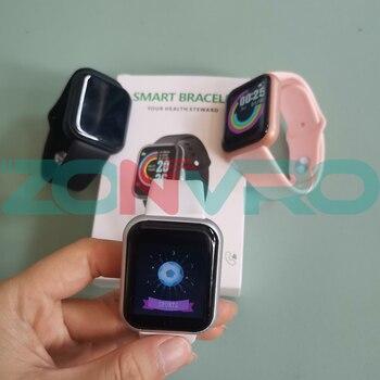 D20 Bluetooth Smart Watches Men Waterproof Sport Fitness Tracker Smart Bracelet Blood Pressure Heart Rate Monitor Y68 Smartwatch 3