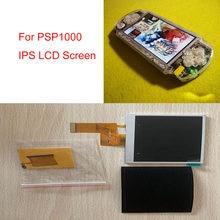 Ips tela lcd para psp1000 jogo console cabo especial para sony psp 1000 para ips tela lcd destaque alto brilho kits