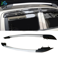 New Arrival For Ford Ranger OE Luggage Bars Roof Rails Roof Rack aluminum Alloy Install By Screws Not Glue