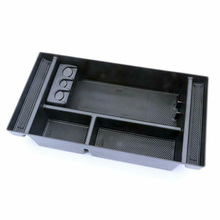 1pcs car Center Console Organizer Tray storage Box stylish For Chevy Silverado 2019 GMC Sierra 1500 center console tray