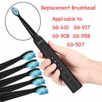 5pcs/set Seago Toothbrush Head for Seago SG610 SG908 SG917 910 507 515 949 958 Toothbrush Electric Replacement Tooth Brush Head