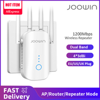 1200Mbps Dual Band 2.4G&5GHz Wireless Extender 802.11ac Wifi Repeater Powerful Wi-Fi Router Long Range Wlan WiFi Amplifier