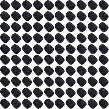 100 шт. Губка микрофона (внутренняя) ветрозащитная Пена Для Shure SM58 SM58S SM58LC BETA58 PG58 SLX24, ручной аксессуар для гриля