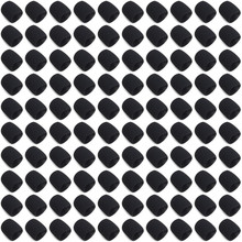 100PCS Microphone Sponage (inner) Windscreens Foam for Shure SM58 SM58S SM58LC BETA58 PG58 SLX24 grill Handheld Accessories