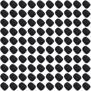 Image 1 - 100PCS Microphone Sponage (inner) Windscreens Foam for Shure SM58 SM58S SM58LC BETA58 PG58 SLX24 grill Handheld Accessories