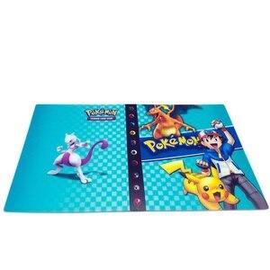Коллекции Pokemones карты Альбом держатель книги Топ загружен список игрушек подарок