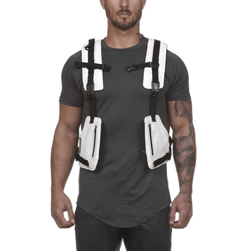 Multi-function Tactical Vest Outdoor Sports Fitness Men's Protective Tops Vestp