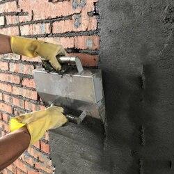 Paleta de hormigón de acero inoxidable, herramientas para enlucido de pared para albañil decorativo, herramientas de construcción, herramientas de Cemento
