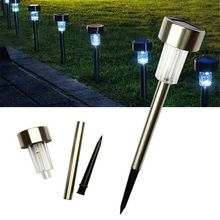 LED Solar Lawn Lamps for Garden Decoration Classic Outdoor Pathway Waterproof Light
