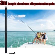 New 3m Aluminum Handheld Selfie Stick Monopod for Insta360 One X&One 360 VR Panoramic Camera Accessories