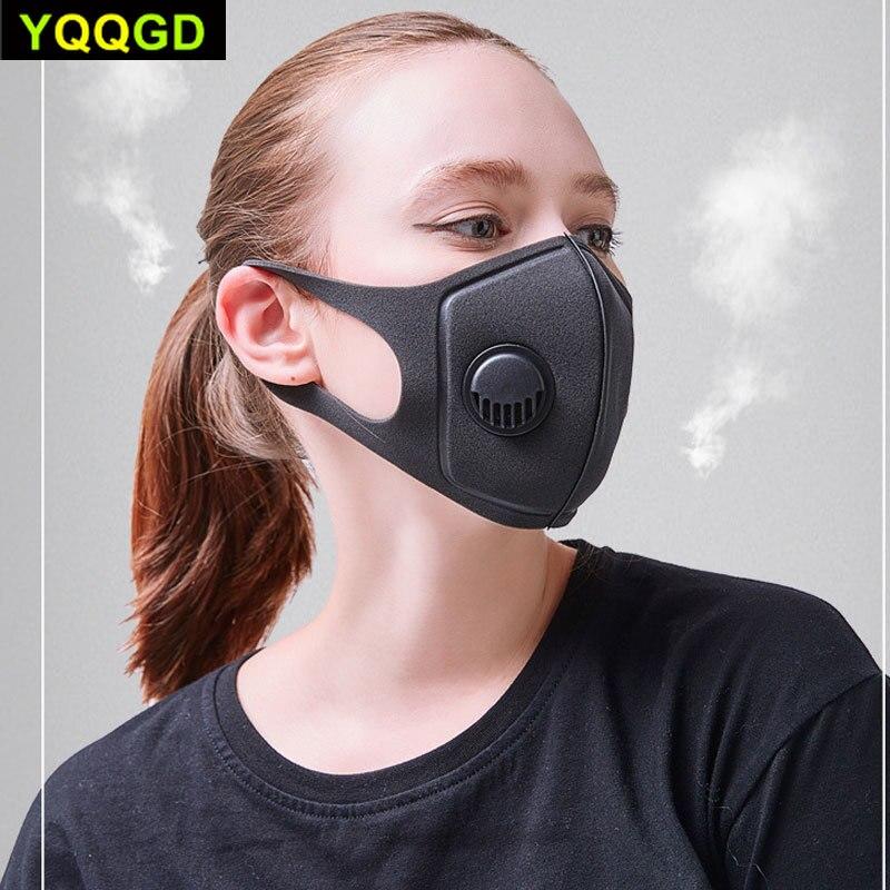 masque avec valve anti virus