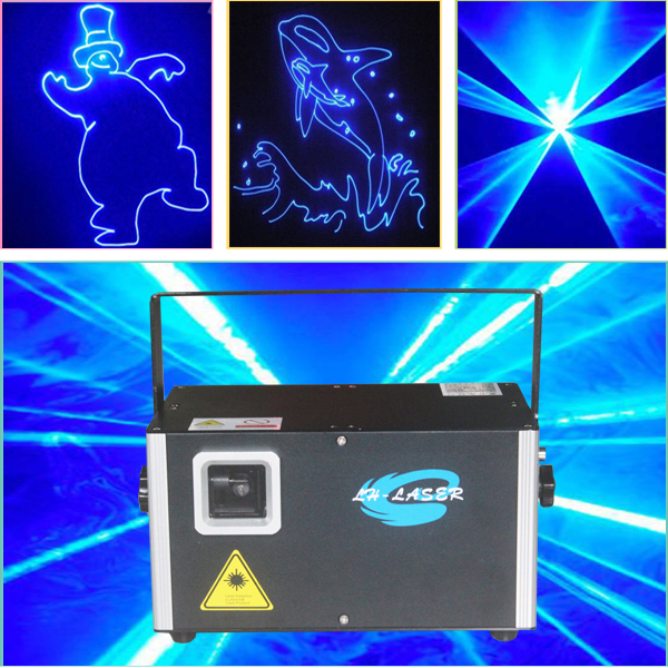 Free Shipping ILDA Blue Color Outdoor Laser Light Show Equipment/RGB Programmable System