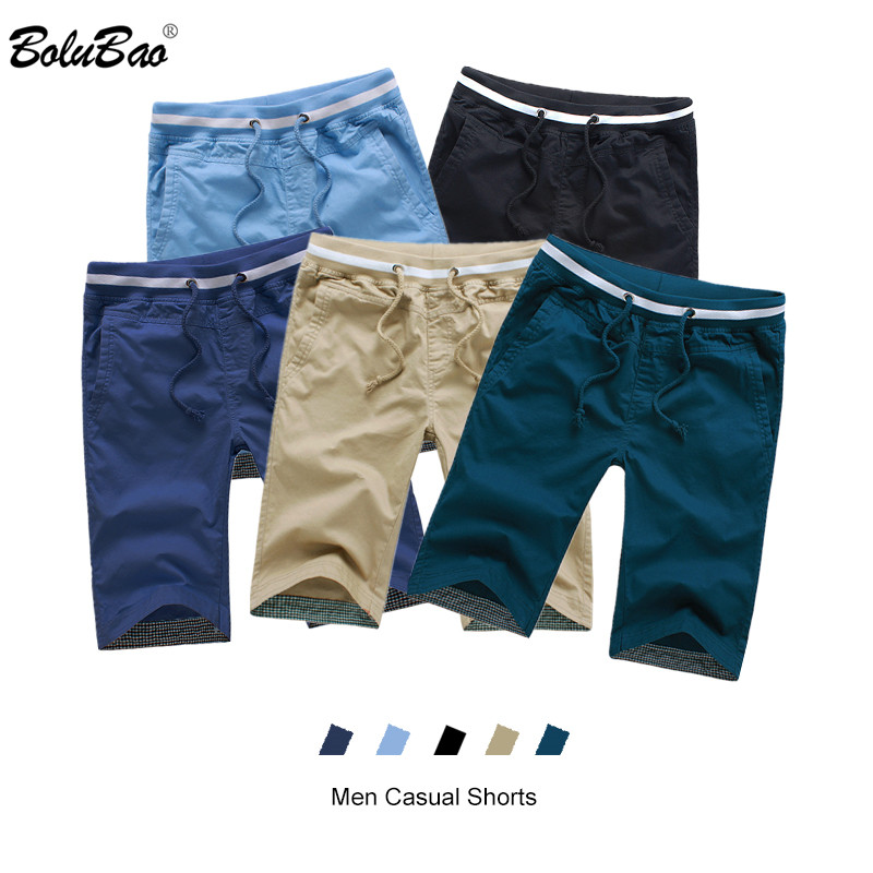 BOLUBAO Summer New Men Casual Short Men's Cotton Simple Short Male Fashion Wild Beach Shorts Brand Clothing