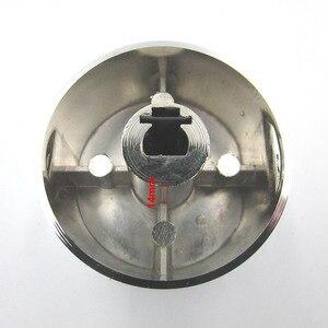 Image 5 - Piezas de estufa de gas con interruptor giratorio perilla redonda de acero inoxidable para estufa de gas