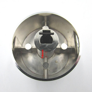 Image 5 - Rotary switch gas stove parts stove gas stove knob stainless steel round knob  Knob for  gas stove
