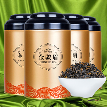 100G Jin Jun Mei Black Tea Canned Tea Bulk New Tea Wuyi Mountain Tongmuguan Honey Fragrance Gift Set Strong Fragrance 1