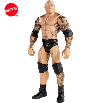 WWE Series Dwayne Batista Wrestlers Doll 6 Inch Action Figure Model Kids Toys Birthday Gift image