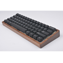Wooden Case For 60% Mini Mechanical retro Keyboard Compatible With Poker2 Pok3R GH60 KC60 XD60 XD64 Etc Clavier Pc Gamer Keypad