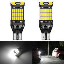 2Pcs 1200Lm T15 W16W LED Canbus Bulbs LED car Backup Reverse Lights for Toyota C-HR Corolla Rav4 Yaris Avensis Camry CHR Auris